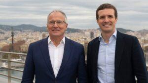 Pablo Casado y Josep Bou