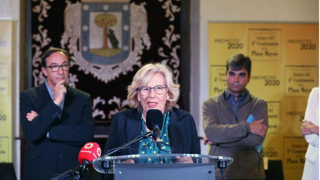 Manuela Carmena y Jorge García Castaño.