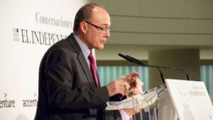 Luis María Linde, exgobernador del Banco de España