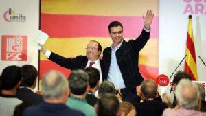 Pedro Sánchez y Miquel Iceta