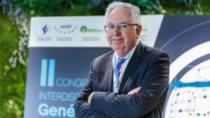 Mark Caulfield, durante su visita a Madrid