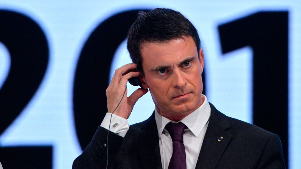Manuel Valls, exprimer ministro de Francia