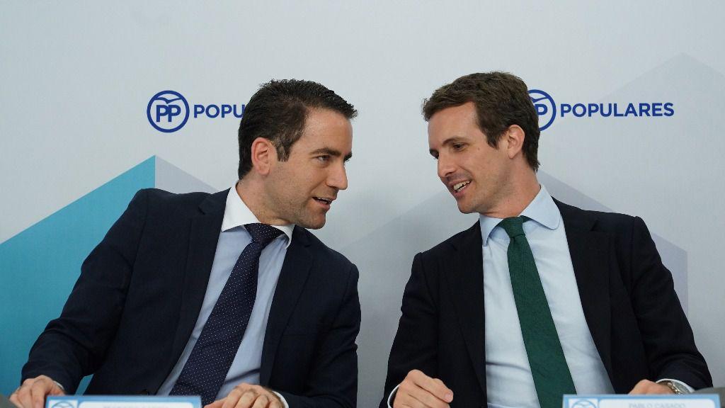 Pablo Casado y Teodoro García