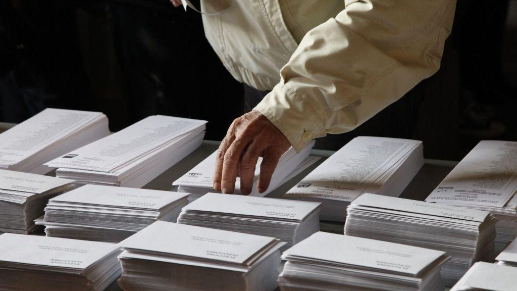 Papeletas elecciones