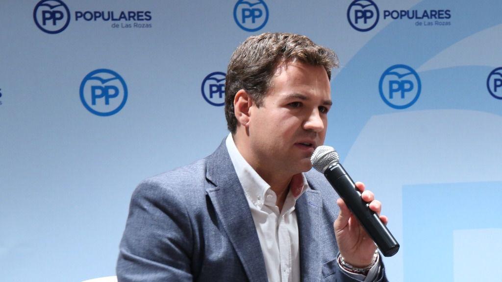 José de la Uz Pardos, alcalde de Las Rozas