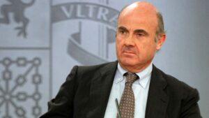 Luis de Guindos, exministro de Economía