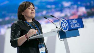 Isabel Bonig, presidenta del PP de Valencia