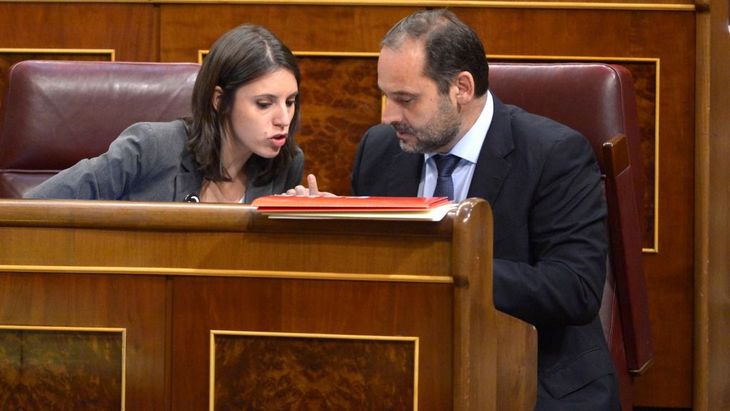 Irene Montero y José Luis Ábalos
