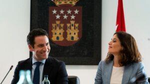 Teodoro García Egea e Isabel Díaz Ayuso