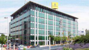 Sede central de Correos en Madrid