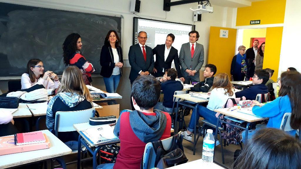 El consejero de Educación de la Comunidad de Madrid, Rafael van Grieken