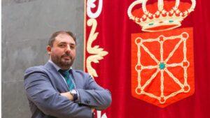 Unai Hualde, presidente del Parlamento de Navarra