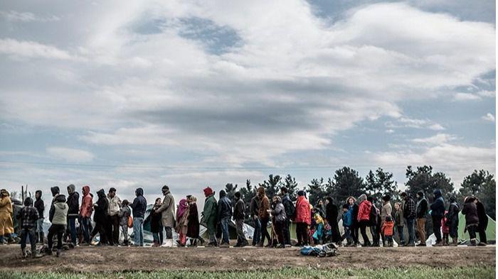 Refugiados.