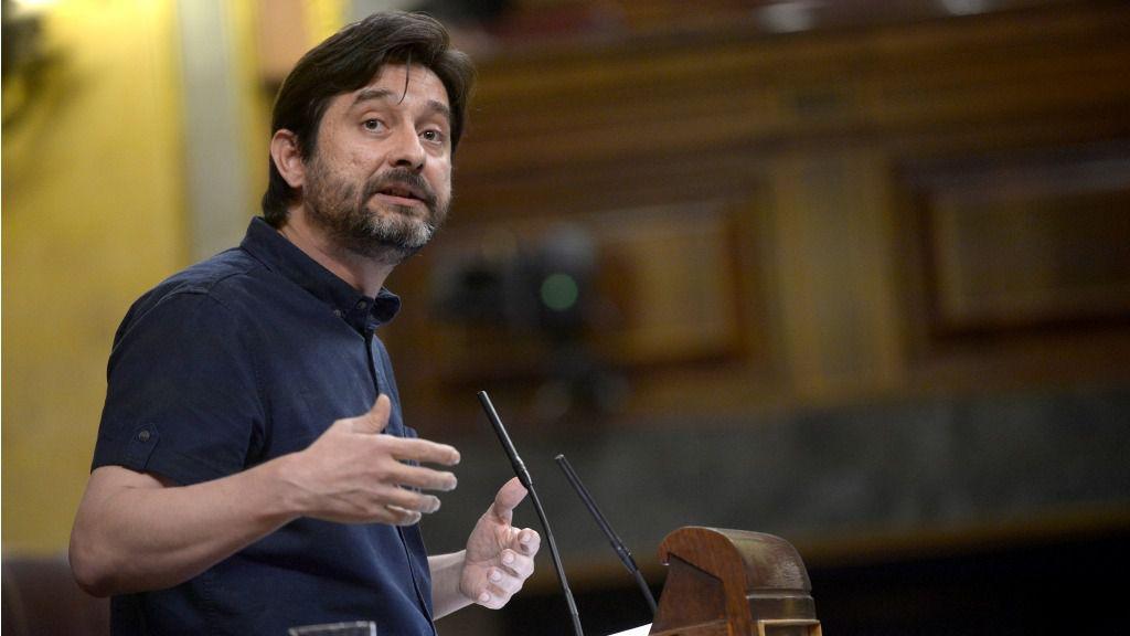Rafael Mayoral, diputado de Unidos Podemos