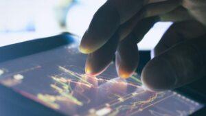 Gráfico Mercados tablet