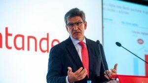 José Antonio Álvarez, consejero delegado de Banco Santander