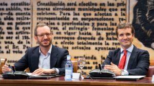 Pablo Casado y Javier Maroto