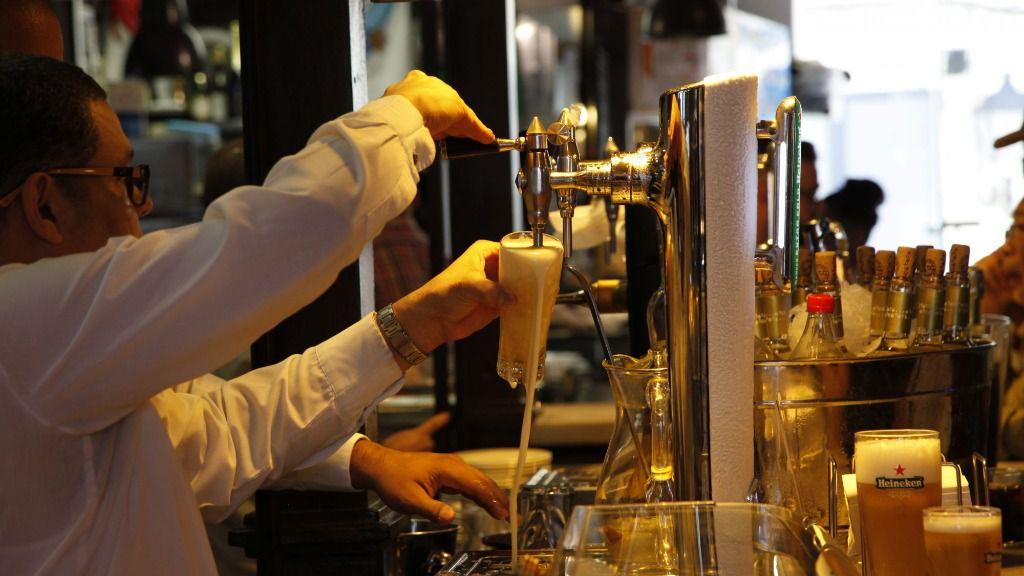 Bar cerveza