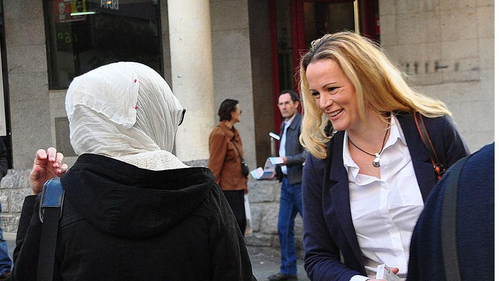 Zaida Cantera, diputada del PSOE