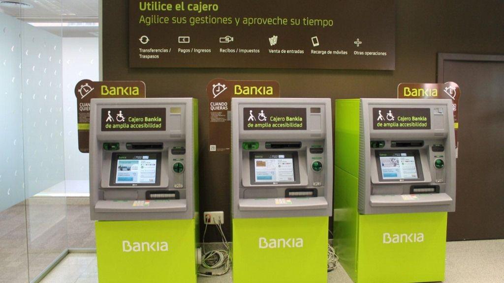 Cajero de Bankia