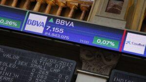 Bolsa de Madrid BBVA