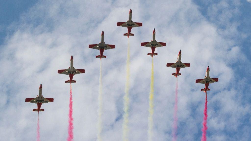 aviones hispanidad defensa militar