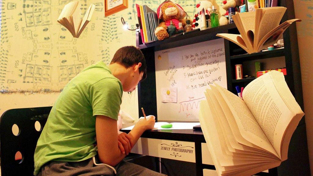 Estudiante habitación
