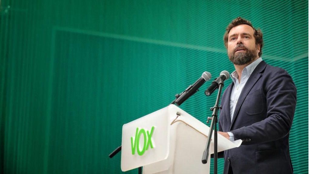 Iván Espinosa de los Monteros, portavoz de Vox en el Congreso de los Diputado