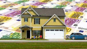 Casa Vivienda Hipoteca dinero