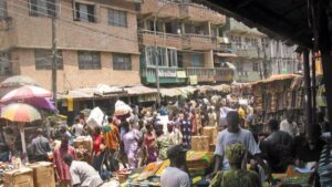 Lagos Nigeria Mercado África