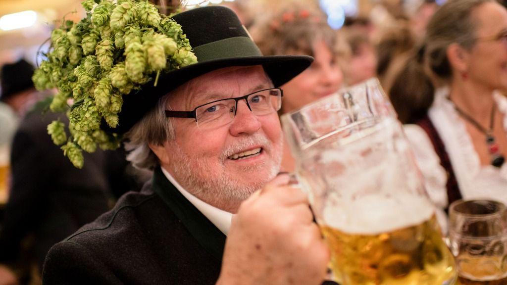 Günter Werner no ha faltado a un solo día del Oktoberfest desde hace 60 años