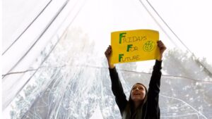 """Manuela Martín """"Mei"""", activista climática de Fridays for Future España de 16 años"""
