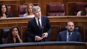 Fernando Grande Marlaska, ministro del Interior
