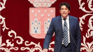 David Pérez, consejero de Vivienda y Administración Local