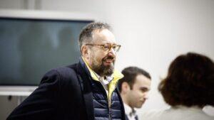 Juan Carlos Girauta, portavoz de Ciudadanos en el Congreso
