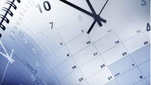 Calendario reloj