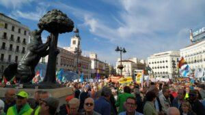 Las marchas de los pensionistas 'desembarcan' en Madrid