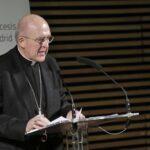 """El cardenal Osoro pide """"perdón públicamente"""" por los abusos cometidos por miembros de la Iglesia en España"""