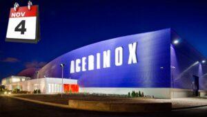 Acerinox 4 noviembre