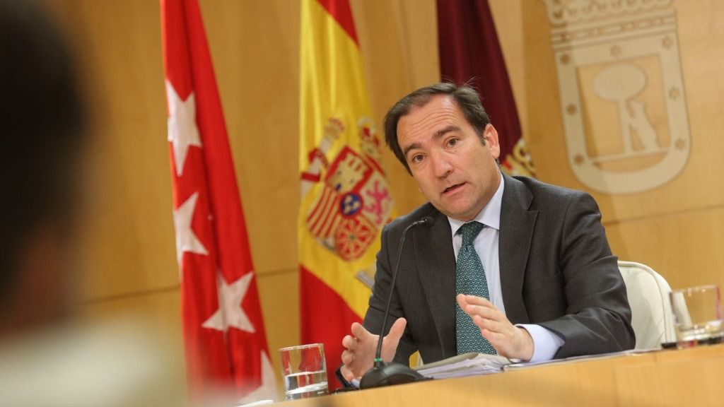 Borja Carabante, delegado del Área de Medio Ambiente y Movilidad del Ayuntamiento de Madrid