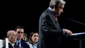 Antonio Guterres COP25
