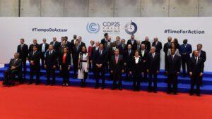Participantes de la COP25