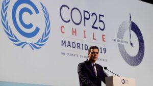 Pedro Sánchez COP25