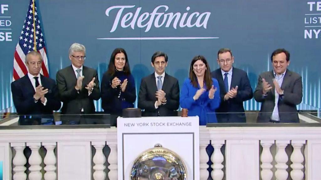Pallete Telefónica Nyse