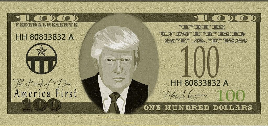 Billete Donald Trump