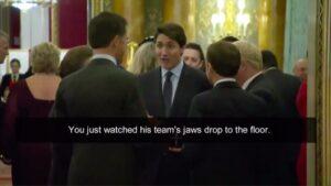 Trudeau, Macron et Johnson discutent de Trump