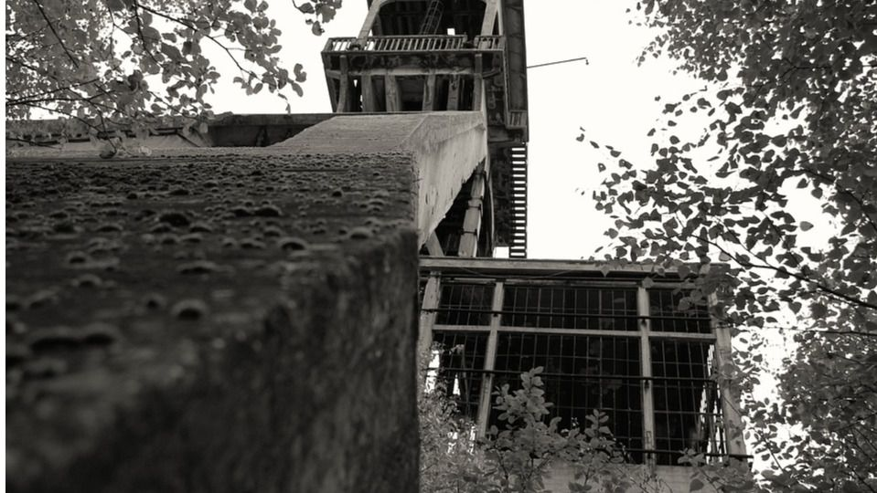 Fábrica de carbón