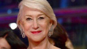 La actriz británica Helen Mirren será distinguida con el Oso de Oro honorífico del Festival Internacional de Cine de Berlín