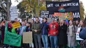Los jóvenes encabezan la Marcha por el Clima del 6 de diciembre
