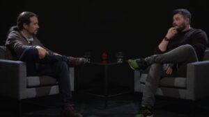 Pablo Iglesias y Gabriel Rufián
